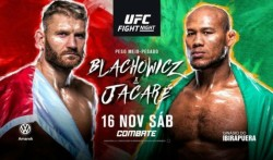 Ufc Fight Night 164 Blachowicz Vs Jacare Preview Fight Card India Time Tv Info