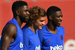 Umtiti Back Dembele Included Barcelona Squad Sparta Prague Champions League
