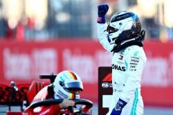 Lewis Hamilton Valtteri Bottas Pole F1 United States Grand Prix Qualifying