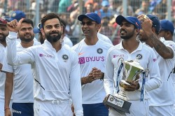 Virat Kohli Pays Tribute To Sourav Ganguly On India S Test Success