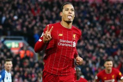 Premier League Wrap Van Dijk At The Double But Alisson Sent Off As Reds Equal Record Chelsea Lose