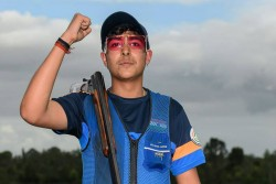 Asian Shooting Championship Chinki Keeps Olympic Quota Hopes Alive Vivaan Esha Win Double Gold