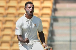 Ranji Trophy Mithun Takes 6 As K Taka Bundle Out Up For 281 Pujara Shines