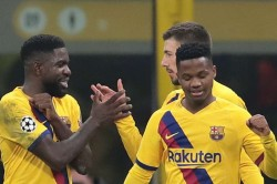 Barcelona Star Fati Becomes Champions Leagues Youngest Goalscorer