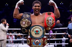 Anthony Joshua Wilder Heavyweight Titles Andy Ruiz Jr