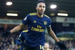 Pierre Emerick Aubameyang Nets Twice Arsenal Draw 2 2 Norwich Freddie Ljungberg First Game
