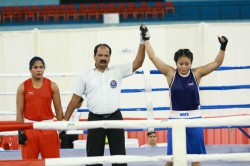 Chandigarh Punjab Boxers Dominate On Day 2 Of Women S National Boxing Championships