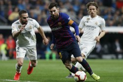 Barcelona Real Madrid Face Off In La Liga El Clasico