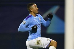Dinamo Zagreb Manchester City Gabriel Jesus Hat Trick Champions League