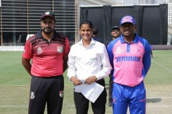 Gs Lakshmi Set To Create History By Becoming First Woman Referee To Oversee Men S Odi