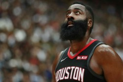 Houston Rockets James Harden Nba Pelicans