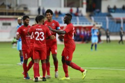 I League 2019 20 Mapuia Brace Gives Churchill Brothers 3 Points Against Punjab Fc