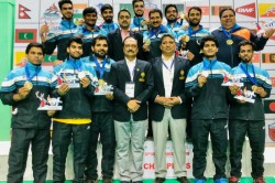 th South Asian Games Indian Men S Badminton Team Win Gold Women Assured Of Silver