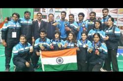 South Asian Games Siril Verma Ashmita Chaliha Lead India To 6 Badminton Gold Medals