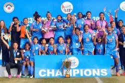 South Asian Games Indian Women S Football Team Clinches Third Successive Sag Gold Beats Nepal 2