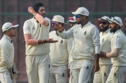 Ranji Trophy Seasoned Ishant Young Simarjeet Blow Away Hyderabad