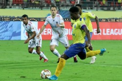 Isl 2019 20 Kerala Blasters Fc Vs Northeast United Fc Kerala Northeast Take Point With Penalties