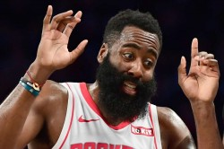 Nba James Harden Rockets Giannis Bucks Knicks