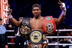 Anthony Joshua Rejects Deontay Wilder Criticism Andy Ruiz Performance