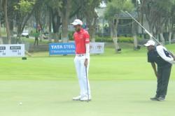 Bengaluru Open Golf Championship 2019 Karandeep Kochhar Om Prakash Chouhan Arun Kumar Tied For Lead