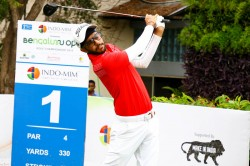 Bengaluru Open Golf Karandeep Kochhar Moves Into Pole Position