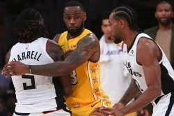 Los Angeles Clippers Christmas Day Los Angeles Lakers Lebron 76ers Bucks Giannis Celtics Raptors Rockets Warriors