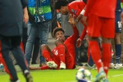 Bayern Munich Knee Injury Kingsley Coman