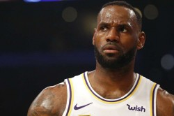 Lebron James Los Angeles Lakers Nba Streak