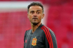 Euro 2020 Draw Spain Coach Luis Enrique Looking On The Bright Side