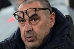 Maurizio Sarri Disagrees Juan Cuadrado Red Card Juventus First Loss