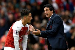 Unai Emery Mesut Ozil Lacked Qualities Aggressive Pressure