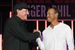 Tiger Woods Golf Heal Issues Around Saudi Arabia International Tournament European Tour Phil Mickelson