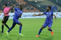 Isl 2019 20 Mumbai City Fc Vs Hyderabad Fc Sougou S Brace Powers Mumbai To First Home Win