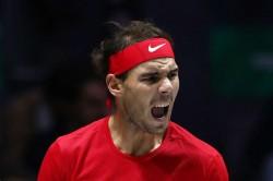 Rafael Nadal Wins Record Fifth Mubadala World Tennis Championship Stefanos Tsitsipas