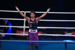 Big Bout Indian Boxing League Ne Rhinos Register Hard Fought Win