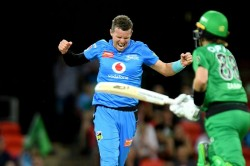Peter Siddle Holds Off Melbourne Stars Adelaide Strikers Win Big Bash League