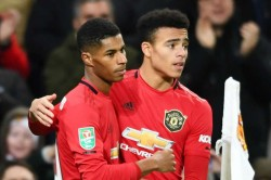 Manchester United 3 0 Colchester Efl Cup Marcus Rashford Anthony Martial