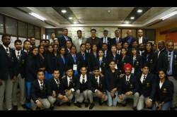 South Asian Games Sports Minister Kiren Rijiju Hands Over Cash Awards To Medallists