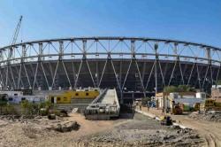 World S Largest Cricket Stadium Sardar Patel Ahmedabad Inauguration Asia Xi World Xi March
