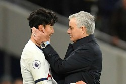 Jose Mourinho Son Heung Min Goal Ronaldo Sonaldo Tottenham Beat Burnley