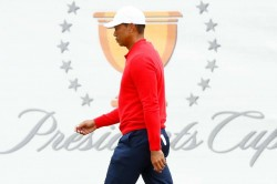 Presidents Cup 2019 Tiger Woods Record