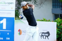 Bengaluru Open Golf Championship Local Lad Trishul And Sudhir Rise To The Top