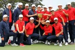 Presidents Cup 2019 Tiger Woods Usa Kuchar Finau