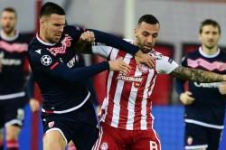 Olympiacos 1 0 Red Star Belgrade Youssef El Arabi Late Penalty Secures Europa League Spot