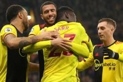 Premier League Review 10 Man Watford Cruise Against Villa Ancelotti Continues Winning Start