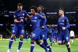 Premier League Tottenham 0 2 Chelsea Willian Double Sees Lampard Past Mentor Mourinho