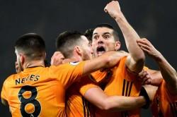 Wolves Manchester City Raheem Sterling Adama Traore Raul Jimenez Ederson
