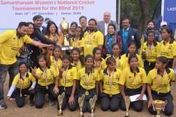 Blind Cricket Odisha Beat Karnataka To Clinch First Ever Samarthanam Women National T20 Tournament