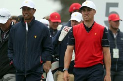 Presidents Cup 2019 Tiger Woods Justin Thomas Marc Leishman Joaquin Niemann