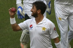 Unfortunate Not To Have Played A Single Test Against India Yasir Shah